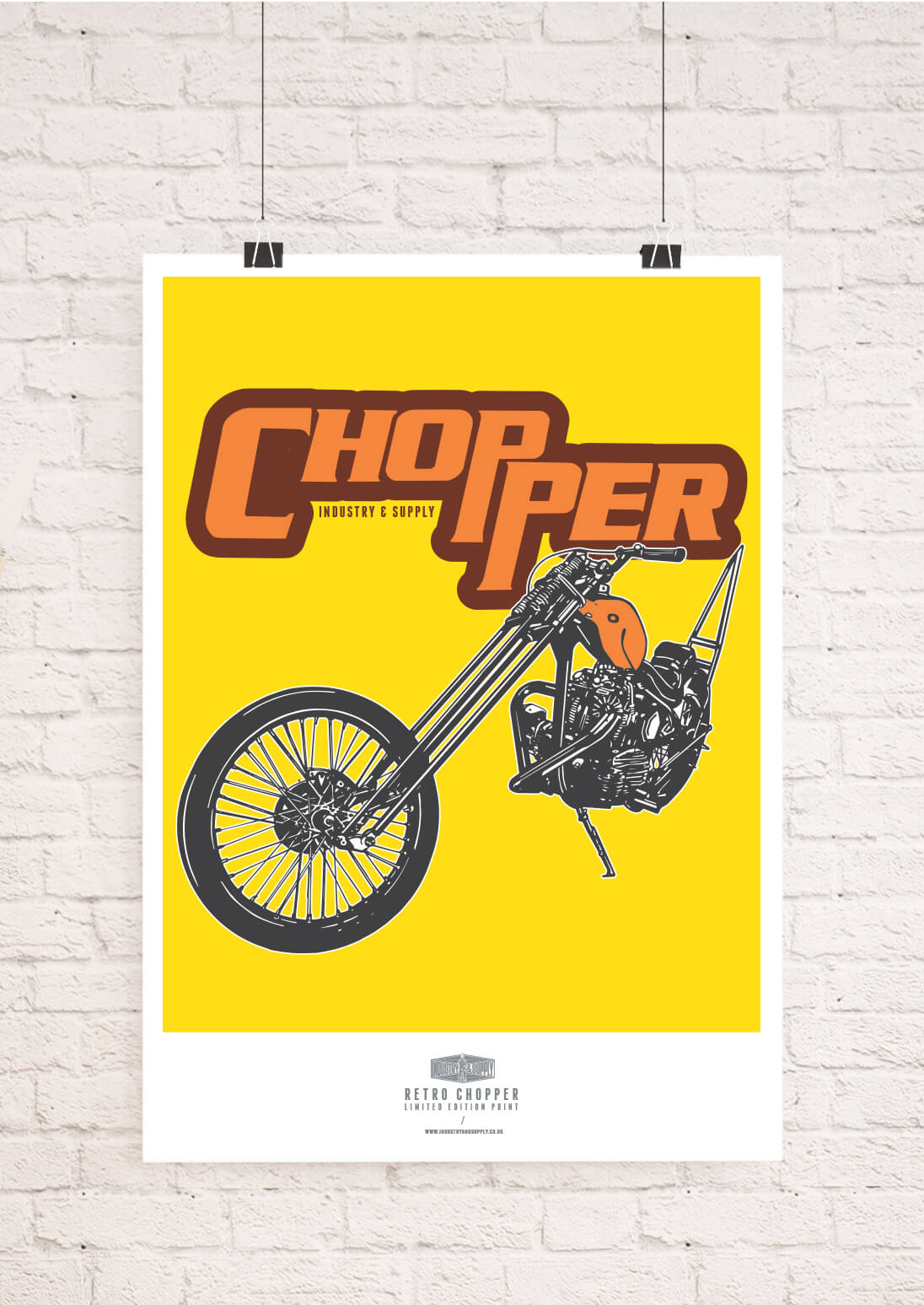 MOTORBIKES WALL ART PRINTS | Industry & Supply