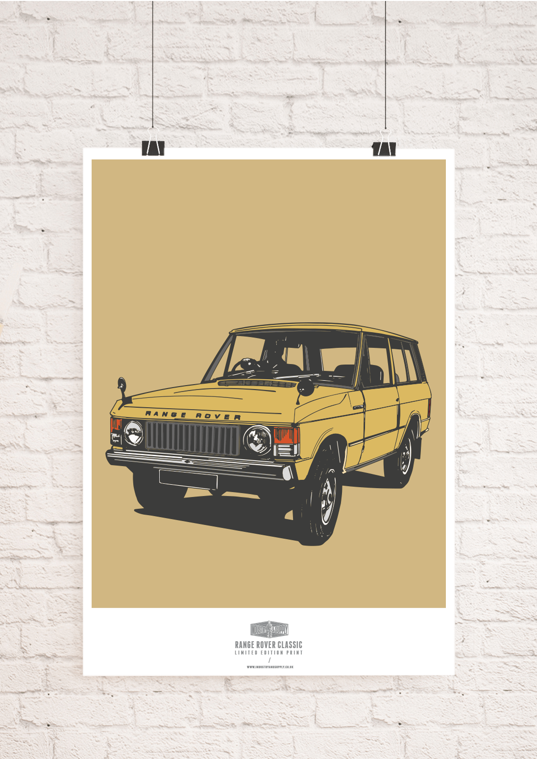 LAND ROVER WALL ART PRINTS   Industry & Supply