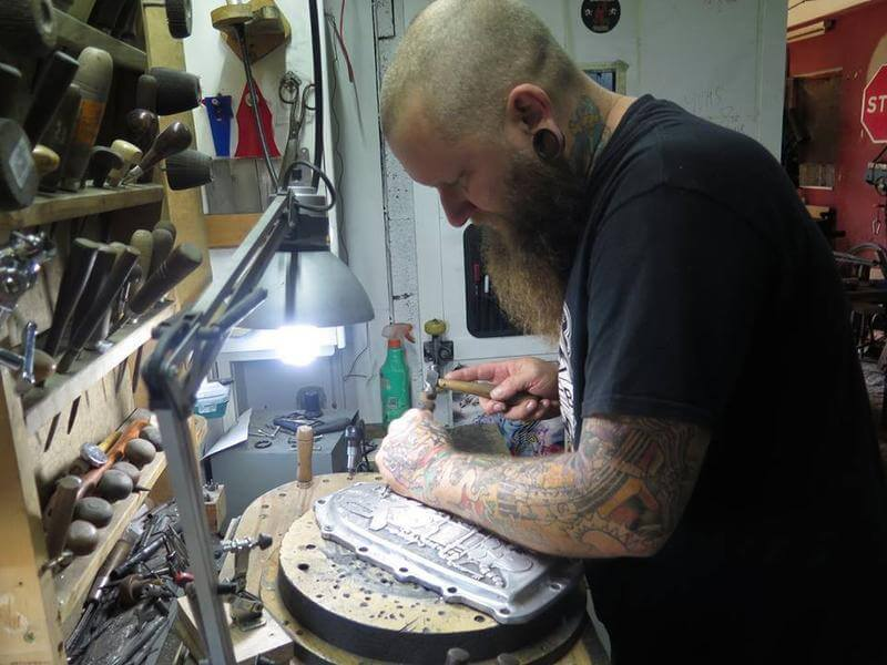 Industry and Supply Inspirations: Tony the Engraver