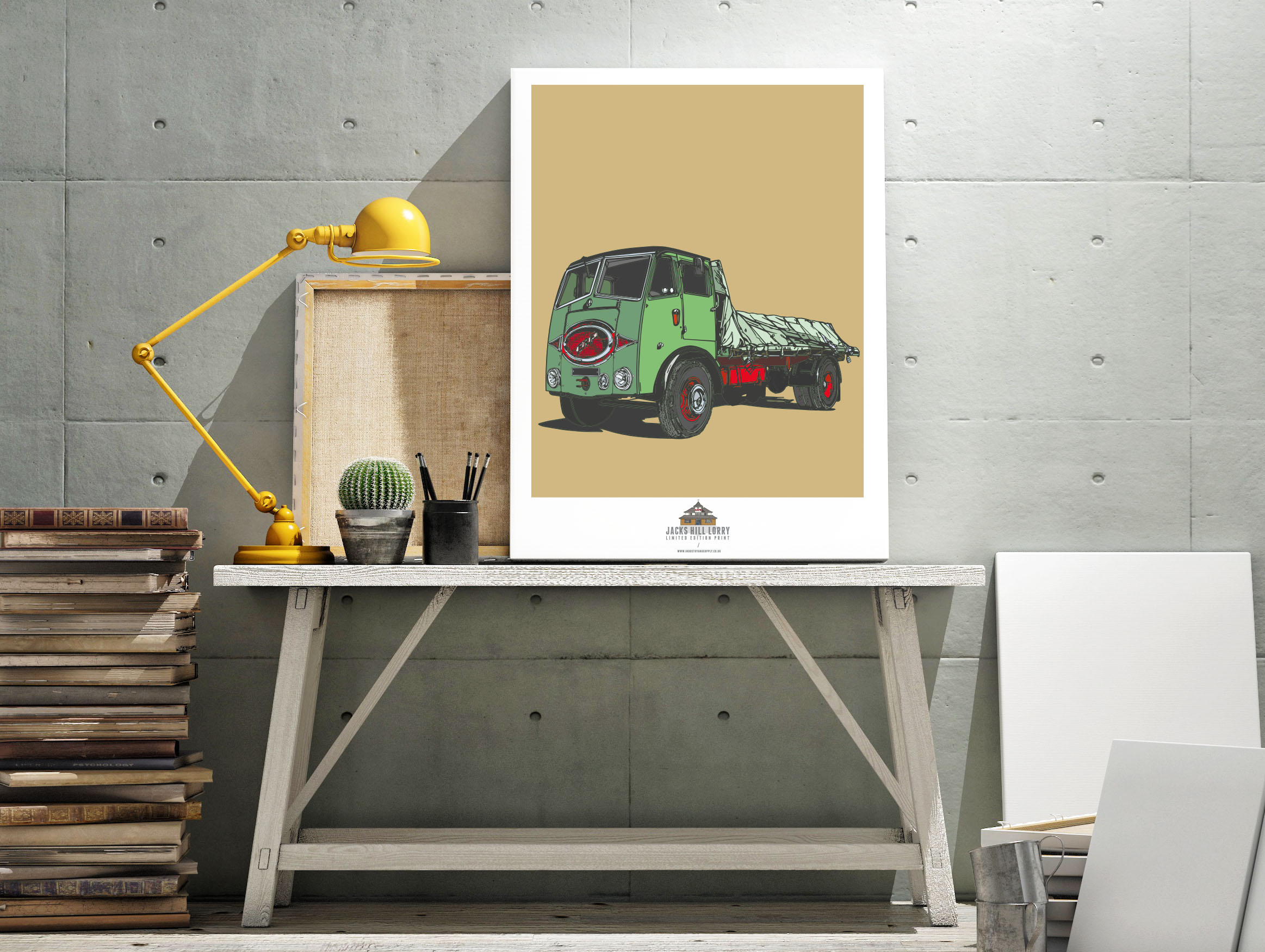 JACKS HILL CAFE WALL ART PRINTS   Industry & Supply
