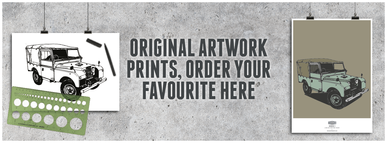 LAND ROVER WALL ART PRINTS | Industry & Supply