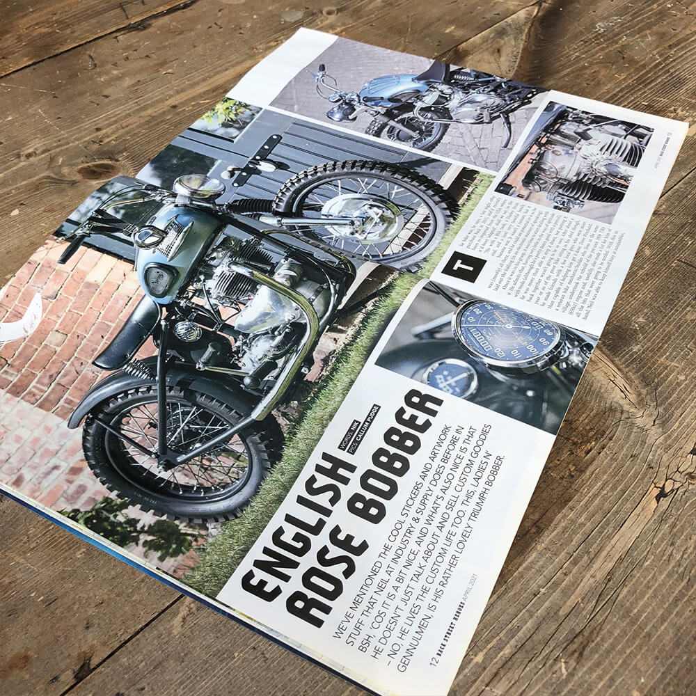 Bobber Page Spread Angle