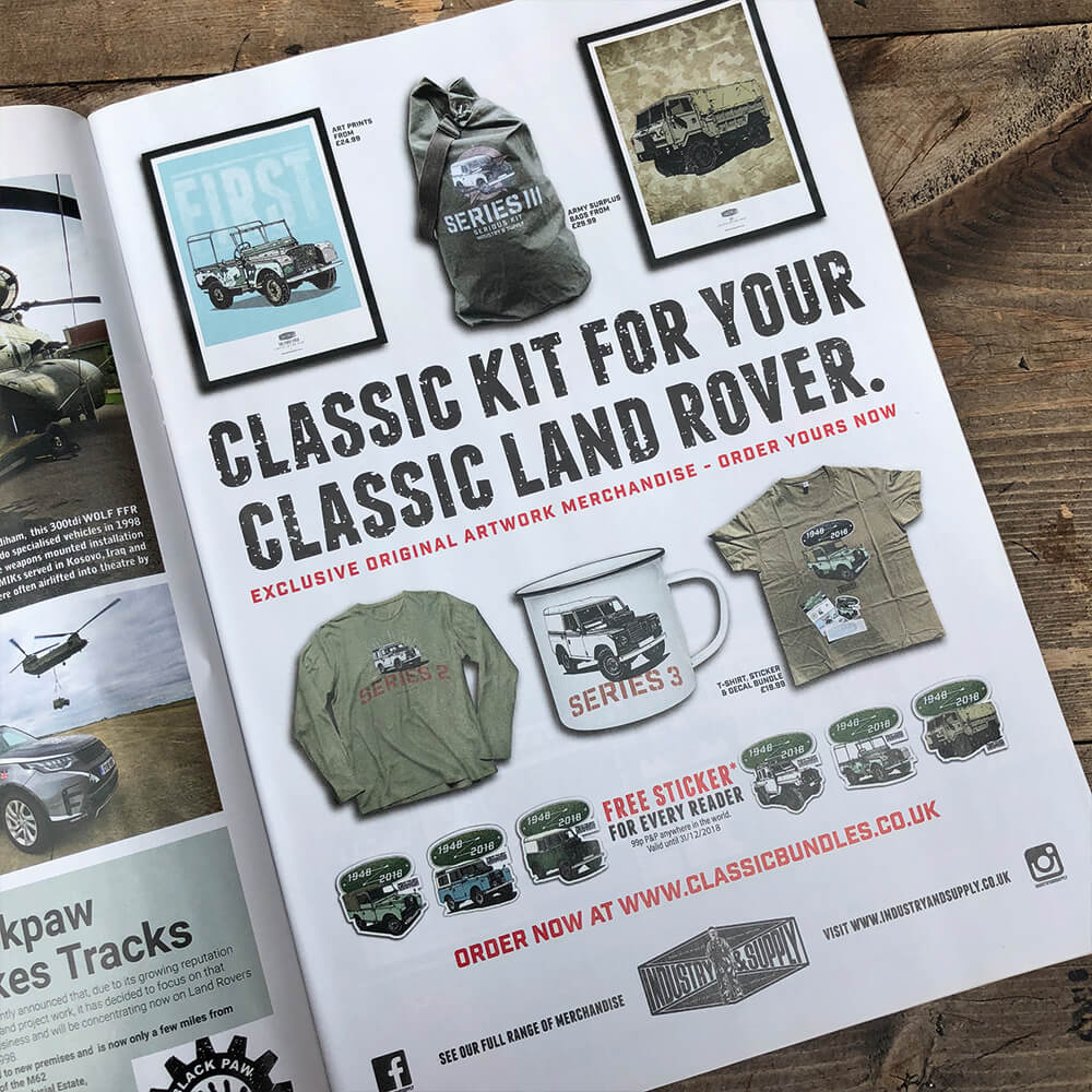 Classic Land Rover Page
